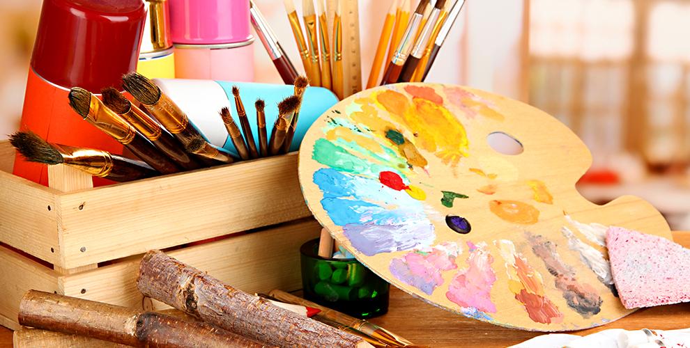 """Сертификат на мастер-класс, альбом для рисования и карандаши от школы """"Жёлтый карандашЪ"""""""
