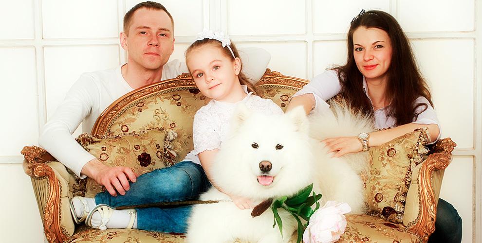 Сертификат 6000 руб. на семейную фотоссесию от студии Buon Giorno