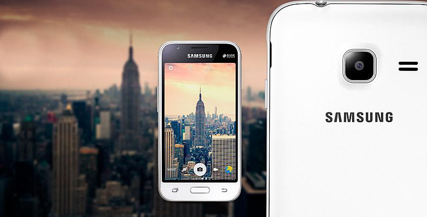 """Смартфон Samsung Galaxy J1 и флешка на 32 ГБ от кальянной """"Безумный Макс"""""""