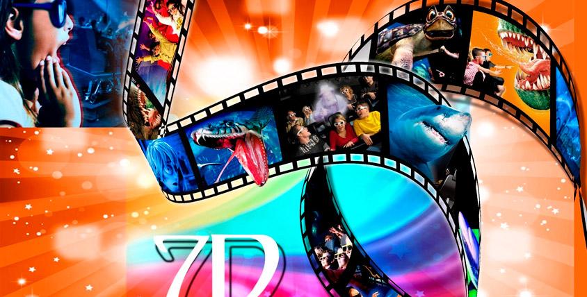 5 пригласительных (каждый на двоих) общей стоимостью 3000 руб. в 7D-кинотеатр