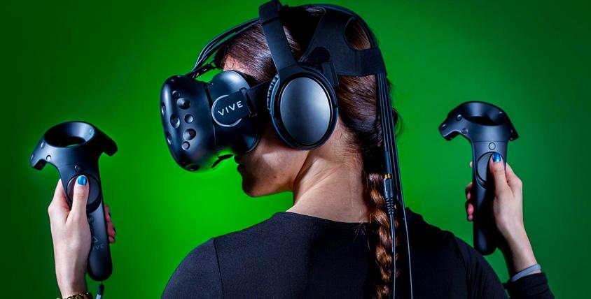 Сертификаты общим номиналом 3500 руб. на игру в шлеме виртуальной реальности HTC Vive от клуба beVR club