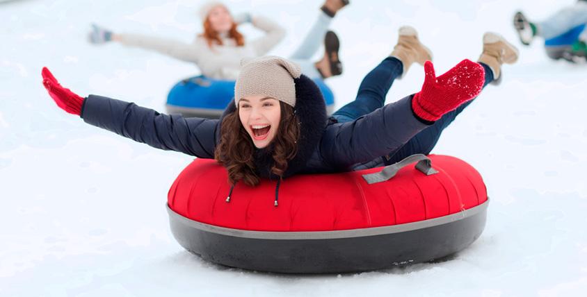 Санки-ватрушка, чехол для сноуборда и горных лыж 7470 руб. от магазина FormulaZima.ru