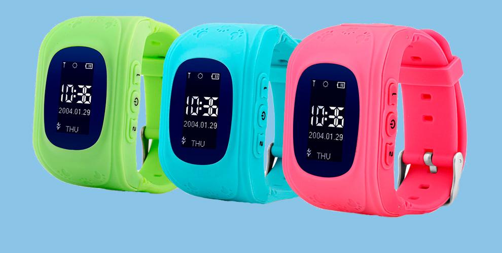 """Детские умные часы с GPS трекером от школы детской безопасности """"СТОП УГРОЗА"""""""