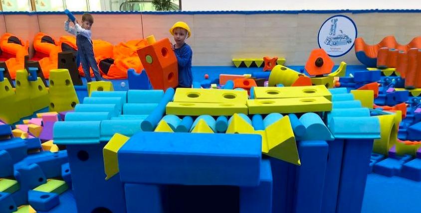 """Сертификаты 2500 руб. на посещение детской игровой площадки """"Строй-ка"""""""