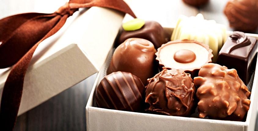 Коробка шоколадных конфет + сертификат в Клинику современных медицинских технологий