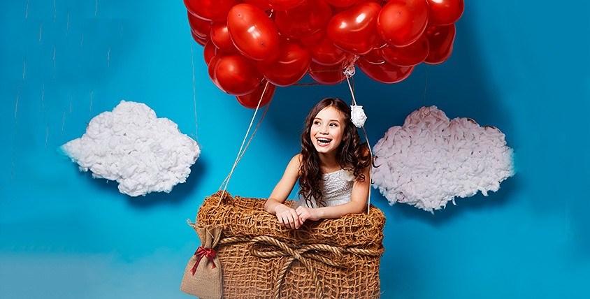 """Фигурка из шаров Лолли Маус с тюльпаном 2000 руб. от магазина """"Воздушный попугай"""""""