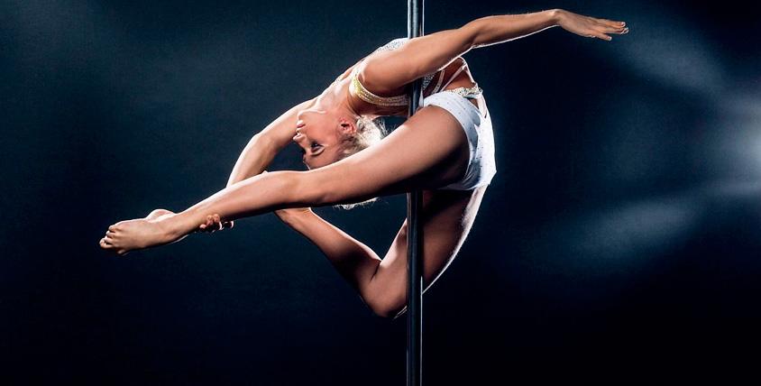 Абонементы общей стоимостью 21 040 руб. на занятия в студии танца Pole Dance House