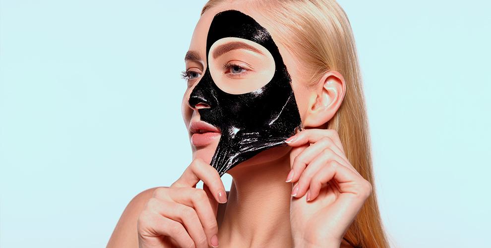 Чёрная маска-пленка 990 руб., набор для маникюра и педикюра 990 руб. от Blackmask-ural