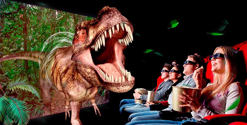 Билеты на посещение 5D кинотеатра