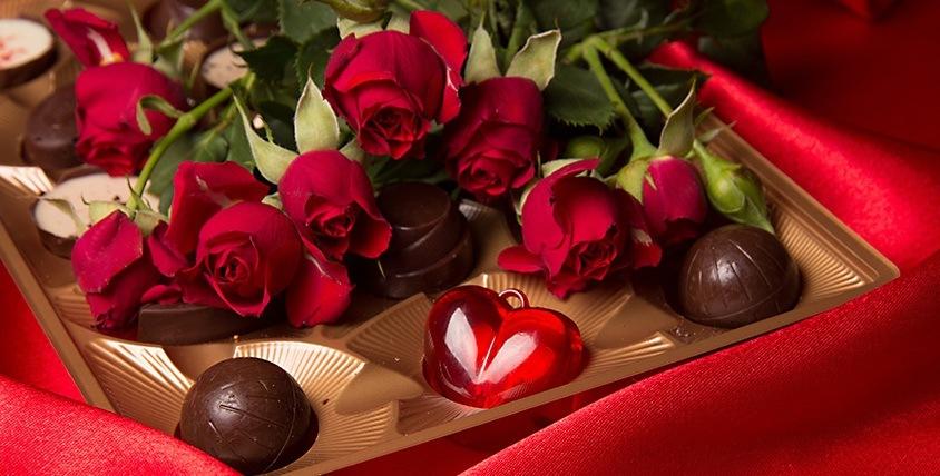 """Конфеты Ferrero Rocher, Raffaello и сертификаты 2500 руб. в салон цветов """"Ромашка"""""""