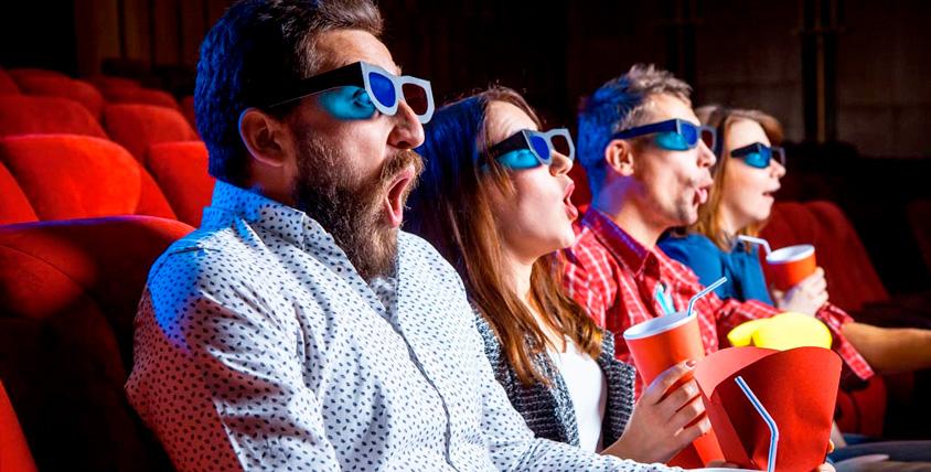 """Пригласительные на любой фильм и попкорн в кинотеатре """"Тетерин Фильм XL"""""""