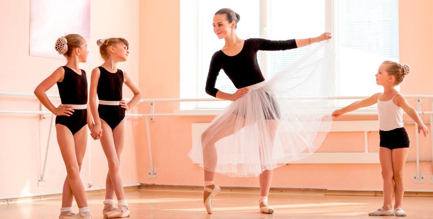 """Сертификаты 6300 руб. на занятия балетом для детей от детского клуба """"ТРИВИУМ"""""""
