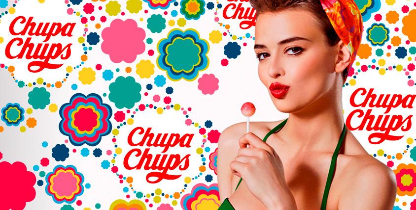 "Леденцы на палочке! 150 штук Chupa Chups от студии ""Силуэт"""