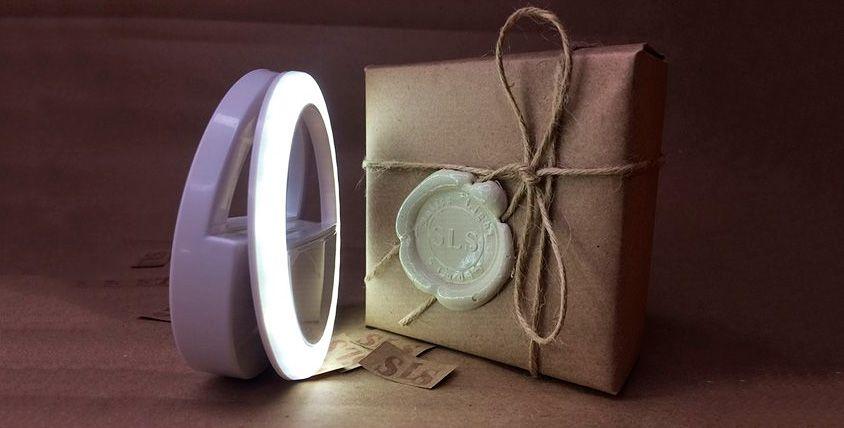 Кольцо для селфи от компании Selfie Light Studio