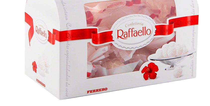 Сертификаты 8200 руб. на SPA-программы + коробка Raffaello от салона красоты Relax