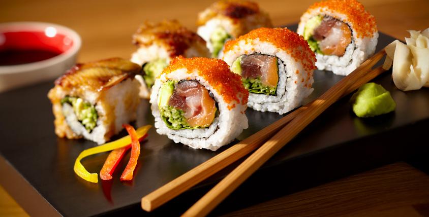 Сертификат номиналом 2000 руб. на меню от службы доставки Mister-Sushi