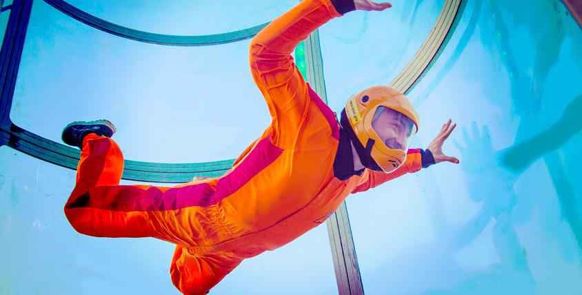 Сертификаты 11500 руб. на полет в аэротрубе от аэродинамического комплекса I can fly