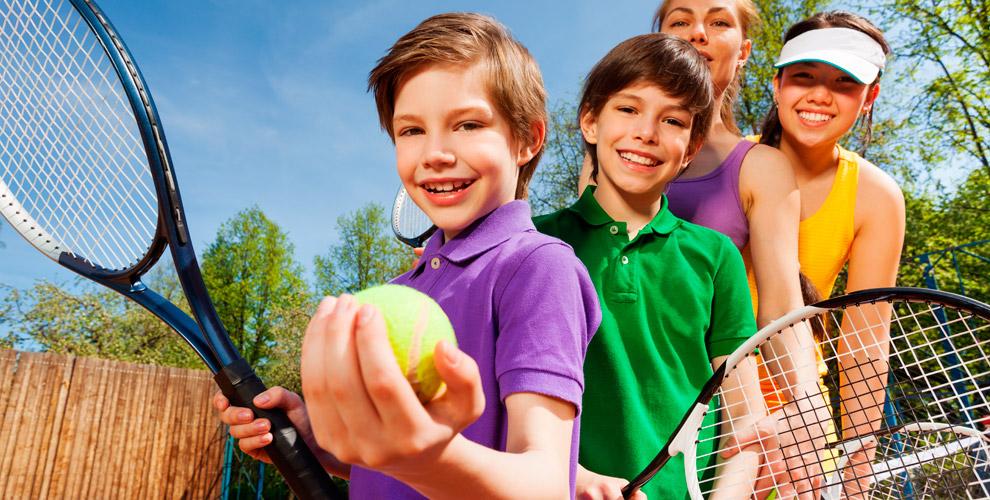 Сертификаты 5000 руб. на занятия и на продукцию теннисного клуба Liga tennis