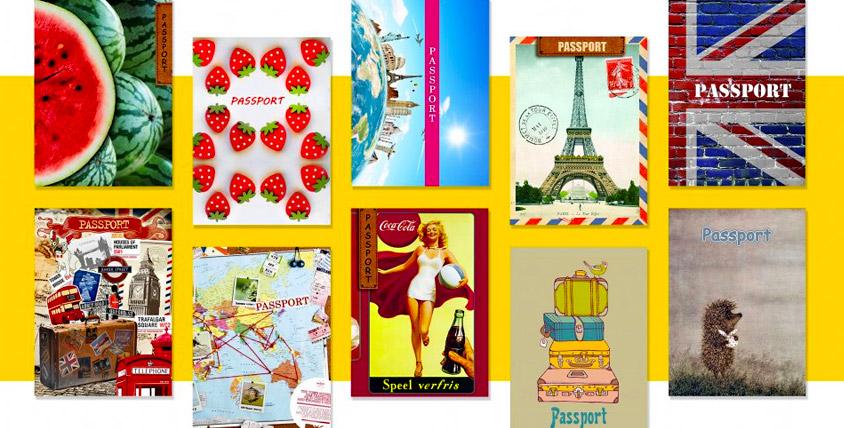 """Зонт, обложка для паспорта и блокнот 2800 руб. от интернет-магазина """"Незабываемые вещи"""""""