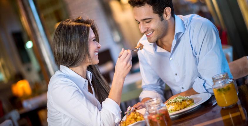 Прекрасный ужин для двоих в рестобаре Twelve bar