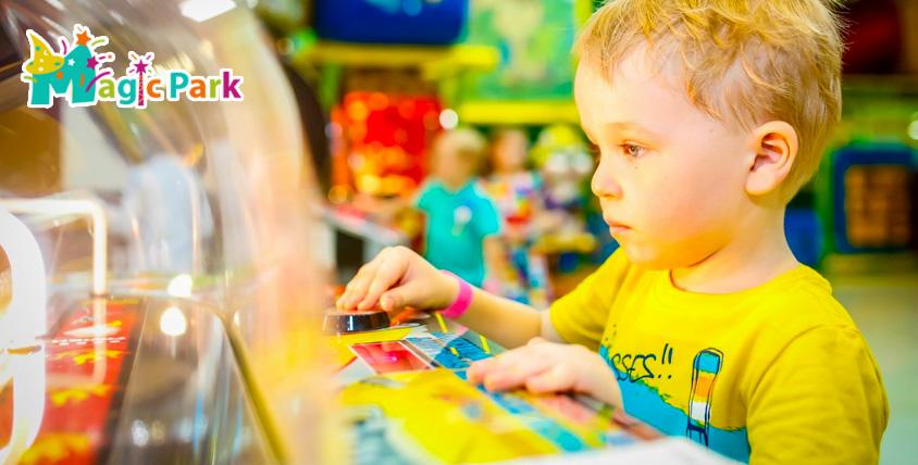 Игровые карты общим номиналом 4300 руб. на любые аттракционы от детского центра Magic Park