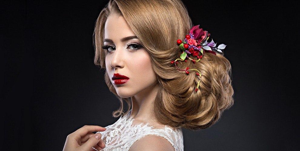 Украшение для головы, набор кистей и сертификаты в мастерскую красоты Beauty Workshop