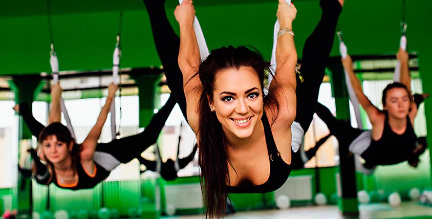Абонементы 2150 руб. на занятия в студии йоги и танца I-Yoga