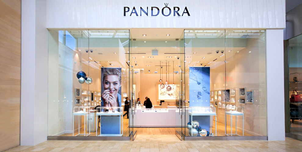 Сертификат 2500 руб. в магазин Pandora от кабинета красоты Элен Зубковой