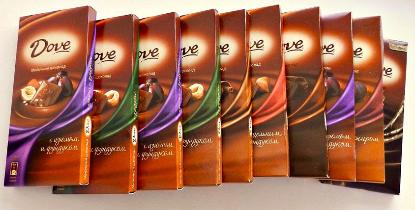 """1 кг шоколада Dove от массажного кабинета """"Мас-эффект""""! Побалуйте себя!"""