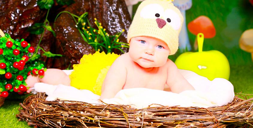 """Сертификат номиналом 2900 руб. на детскую фотосессию малышей до года от интерьерной фотостудии """"ФотоСказка"""""""