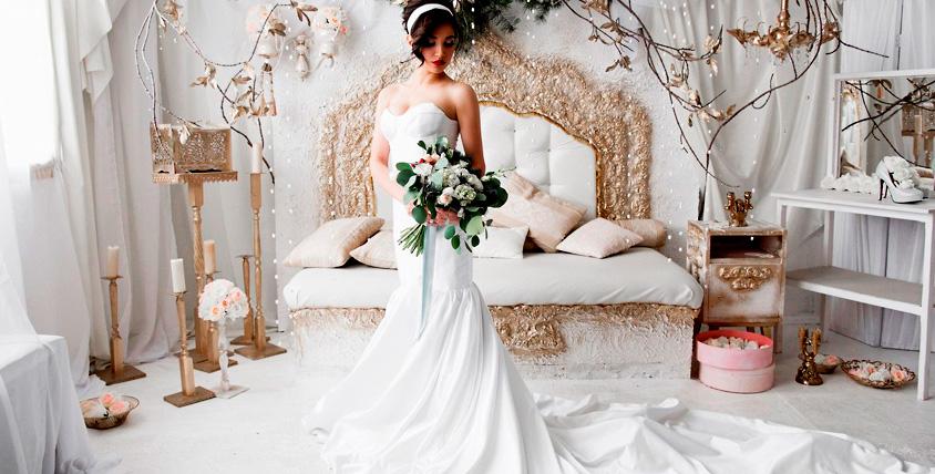 Сертификат номиналом 3000 руб. на приобретение фаты или свадебных украшений в свадебном салоне Romance