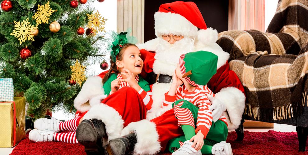 Экспресс-поздравление от Деда Мороза и Снегурочки с выездом на дом
