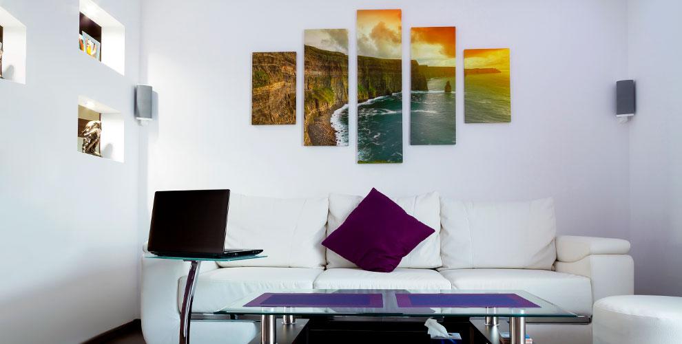 Печать наплотной бумаге, изготовление календаря вцентре «Интерфото»
