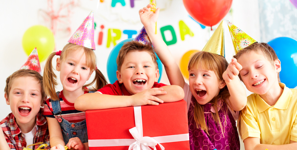 Детский день рождениявагентстве «Оранжевый Ёжик»