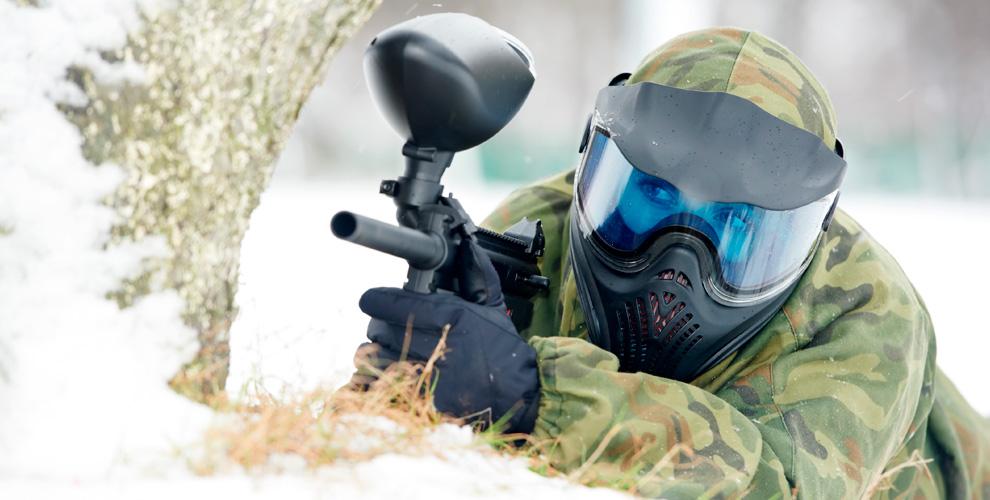 Игры впейнтбол, лазертаг икибертаг вклубе активного отдыха «Атака»
