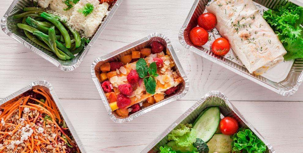 Доставка комплексных обедов отOFFICE LUNCH74