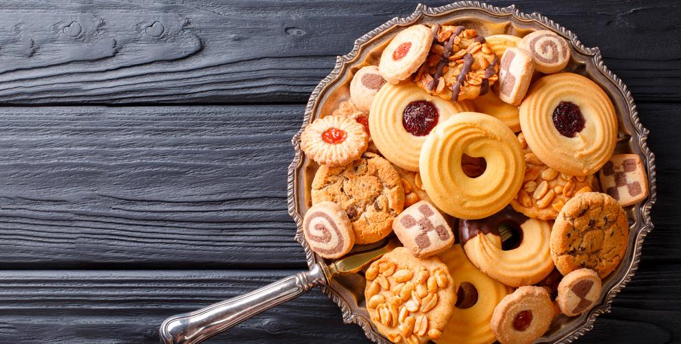 «Волжские сладости»: маффины, печенье «Курабье», «Ореховое колечко», «Фантик»
