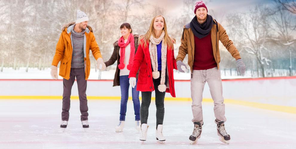 «Каток в Саду Победы»: катание на коньках и тюбинге