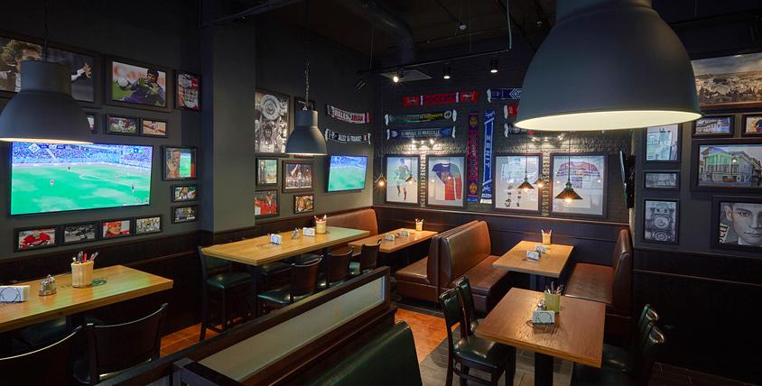 Чешская кухня, веселая компания и спортивные трансляции в сети пивных ресторанов и баров Fan Zone. За вкусным весельем сюда!