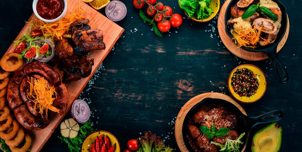 Горячие блюда, салаты, закуски, паста идесертывресторане-баре «Жигули»