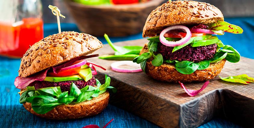 Вегетарианский ужин для двух, четырех или шести человек в Zen Vegan Burger
