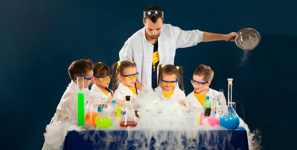 Выездные научные шоусаниматорами отлаборатории «Наука-шоу»