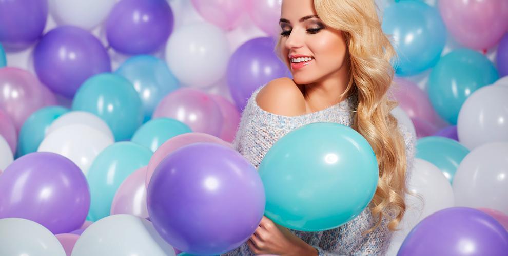 Компания Fun-group: гелиевые и фольгированные шары, а также композиции