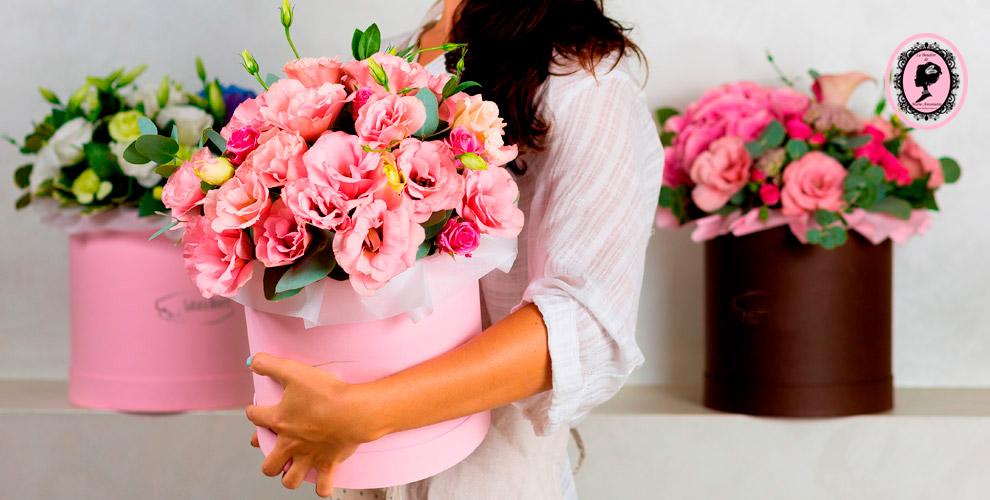 Букеты изцветов имишка изрозотинтернет-магазина «Будуар цветов»