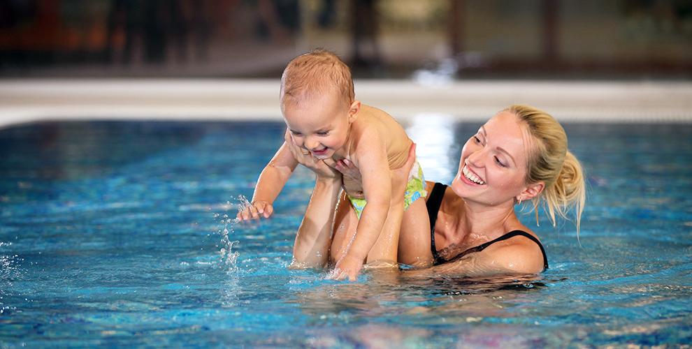 Посещение бассейна для детей в аквацентре «Русалочка»