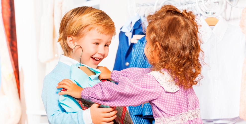 Ассортимент детской одежды вмагазине Baby boom