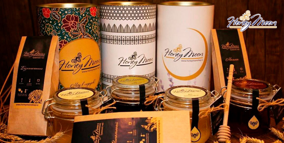 Подарочные наборы и мёд на выбор от интернет-магазина HoneyMoon