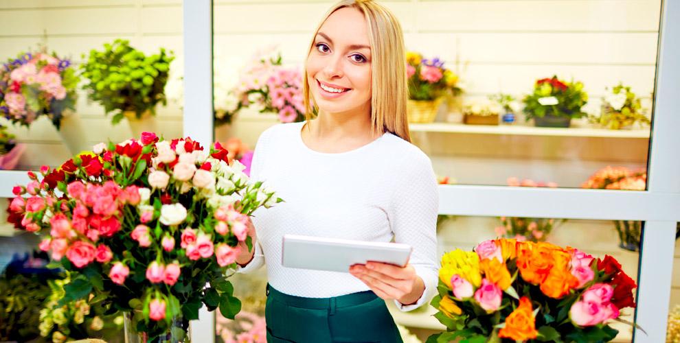 Цветы и букеты из роз в сети салонов «Дон Пион»