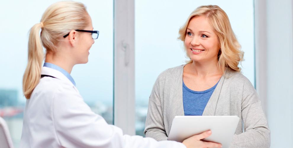 Обследование для женщин в медицинском центре «А»