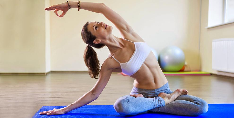 Бесплатное пробное занятие йогой и абонементы в студию GaNeSa yoga